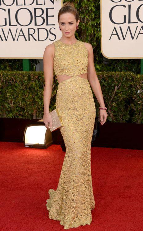 Emily Blunt wearing Michael Kors